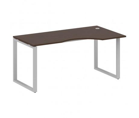 Стол криволинейный правый на О-образном м/к 160x90x75 Metal System