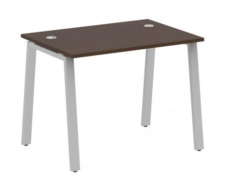 Стол письменный на А-образном м/к 100x72x75 Metal System