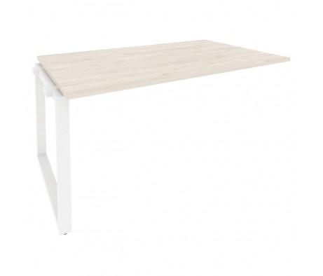 Проходной наборный элемент переговорного стола на О-образном м/к 1580x980x750 Onix