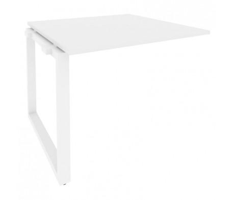 Проходной наборный элемент переговорного стола на О-образном м/к 980x980x750 Onix