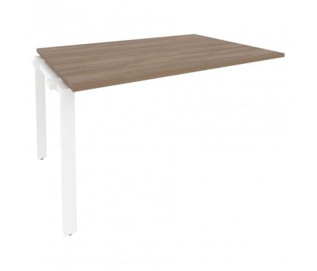Проходной наборный элемент переговорного стола на П-образном м/к 1380x980x750 Onix