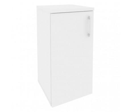Шкаф низкий узкий левый (1 низкий фасад ЛДСП) 400x420x823 Onix