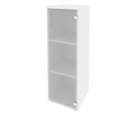 Шкаф средний узкий правый (1 средний фасад стекло) 400x420x1207 Onix