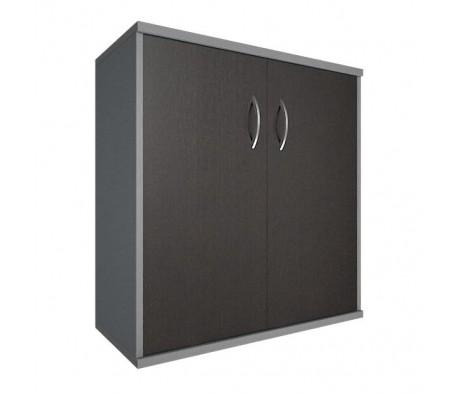 Шкаф низкий широкий 2 низкие двери ЛДСП Riva