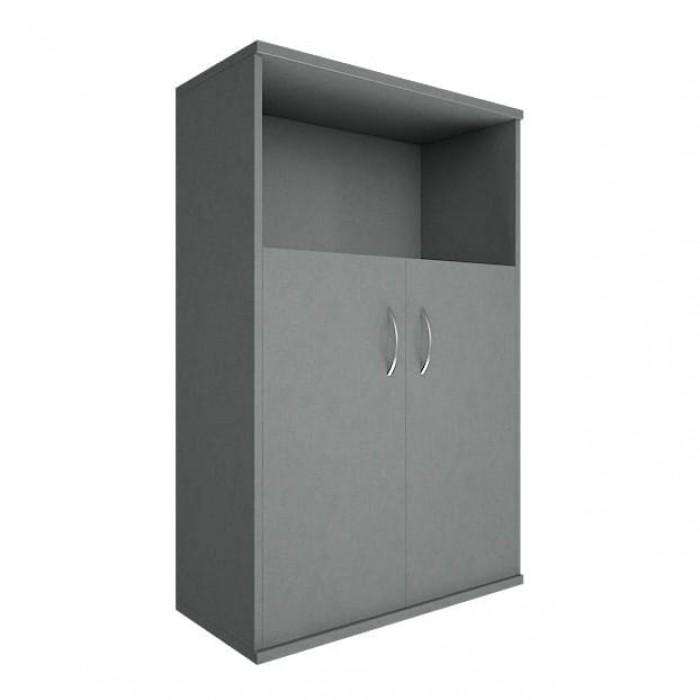 Шкаф средний широкий 2 низкие двери ЛДСП Riva
