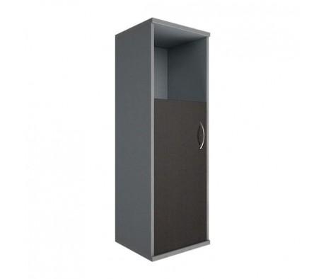 Шкаф средний узкий 1 низкая дверь ЛДСП Riva