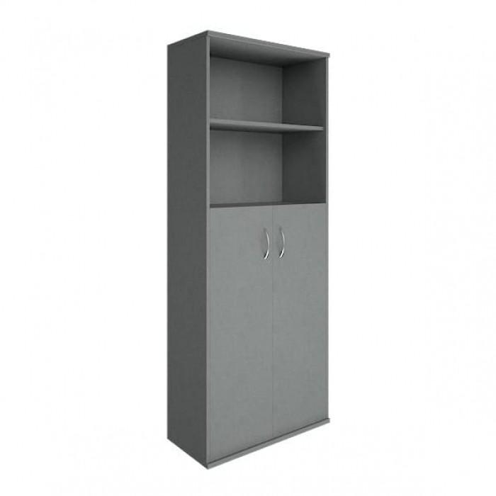 Шкаф высокий широкий 2 средние двери ЛДСП Riva
