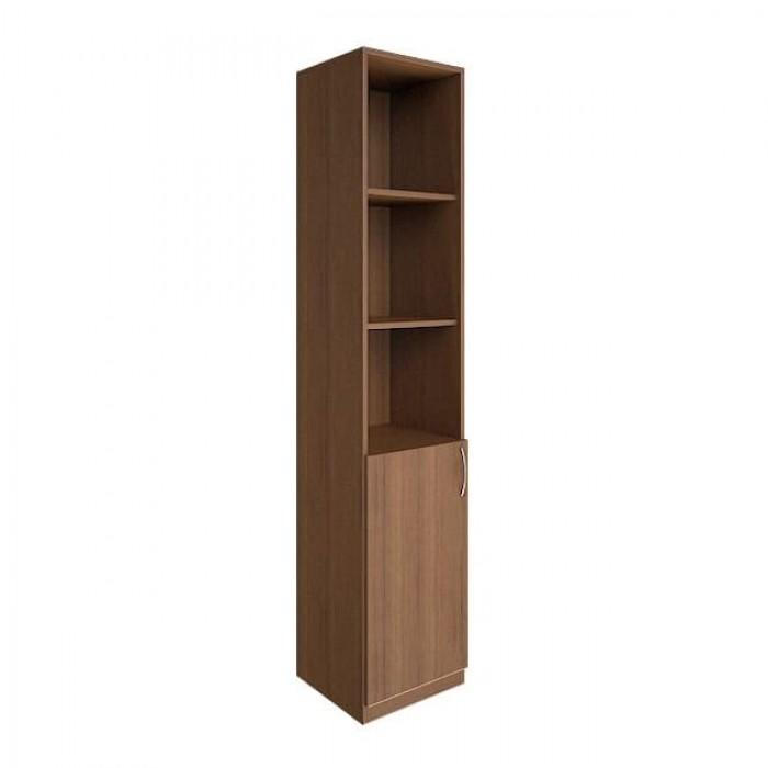 Шкаф высокий узкий 1 низкая дверь ЛДСП Nova S