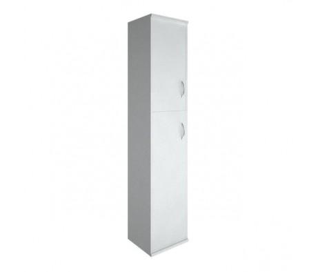 Шкаф высокий узкий 1 средняя дверь ЛДСП 1 низкая дверь ЛДСП Riva