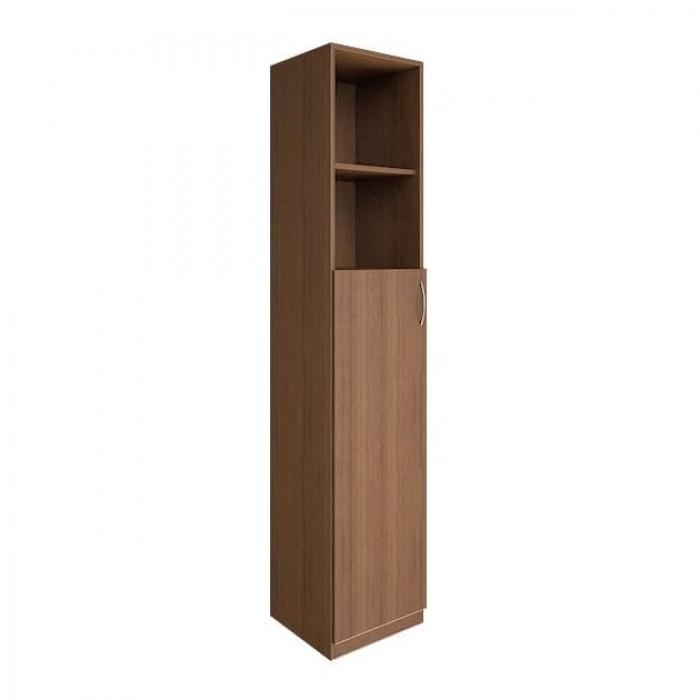 Шкаф высокий узкий 1 средняя дверь ЛДСП Nova S