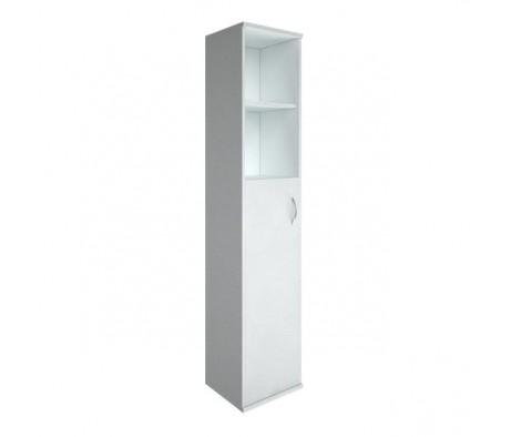 Шкаф высокий узкий 1 средняя дверь ЛДСП Riva
