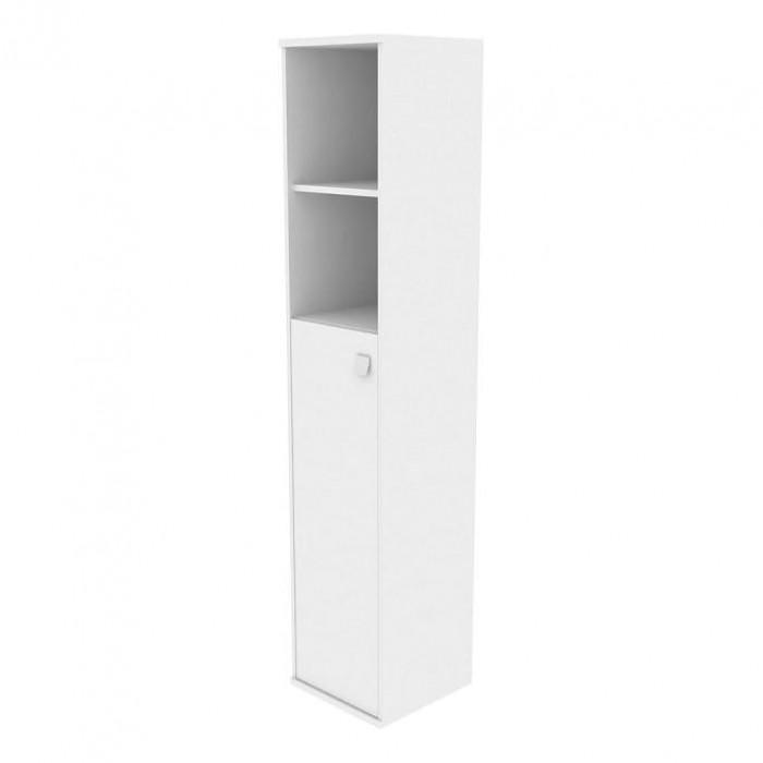 Шкаф высокий узкий 1 средняя дверь ЛДСП Style System