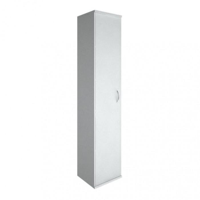 Шкаф высокий узкий 1 высокая дверь ЛДСП Riva