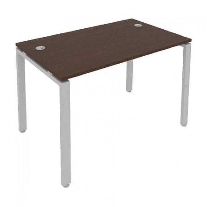 Стол письменный на П-образном м/к 120x72x75 Metal System
