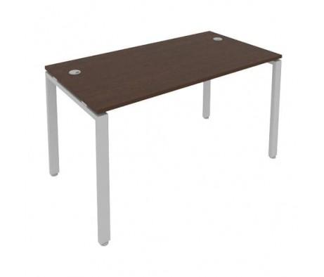 Стол письменный на П-образном м/к 140x72x75 Metal System
