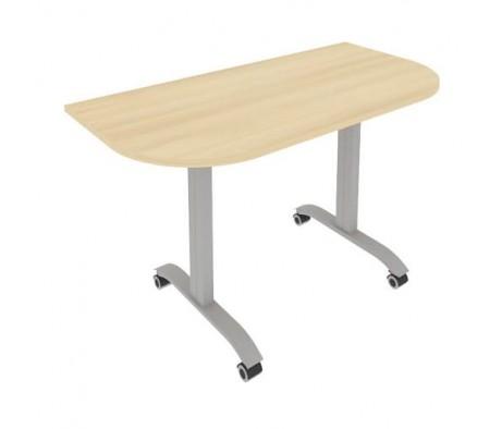 Стол радиусный складной мобильный 1300x650x757 Mobile System