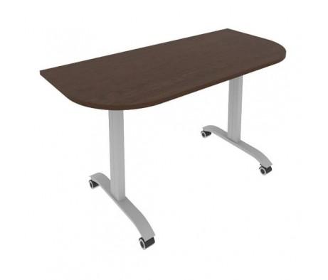 Стол радиусный складной мобильный 1400x650x757 Mobile System