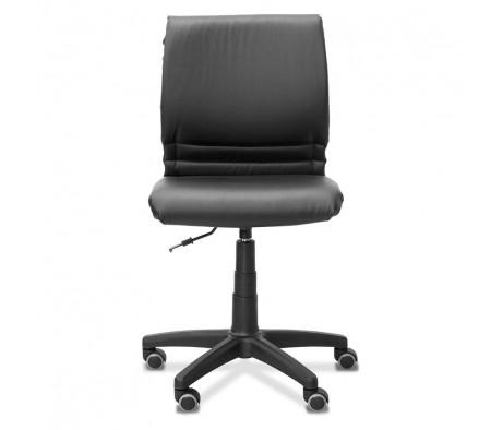 Кресло Квадро экокожа (опора из черного полиамида)