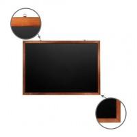 Доска для мела магнитная BRAUBERG 100х150 деревянная окрашенная рамка 236895
