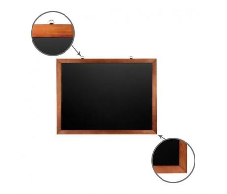 Доска для мела магнитная BRAUBERG 60х90 деревянная окрашенная рамка 236891