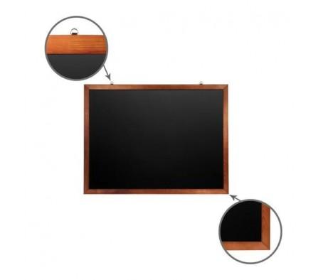 Доска для мела магнитная BRAUBERG 90х120 деревянная окрашенная рамка