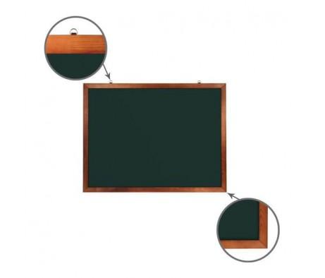 Доска для мела магнитная BRAUBERG 90х120 деревянная окрашенная рамка 236892