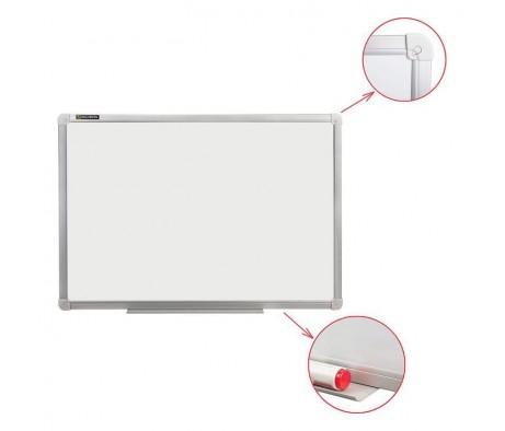 Доска магнитно маркерная BRAUBERG стандарт 120х180 алюминиевая рамка
