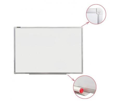 Доска магнитно маркерная BRAUBERG стандарт 60х90 алюминиевая рамка
