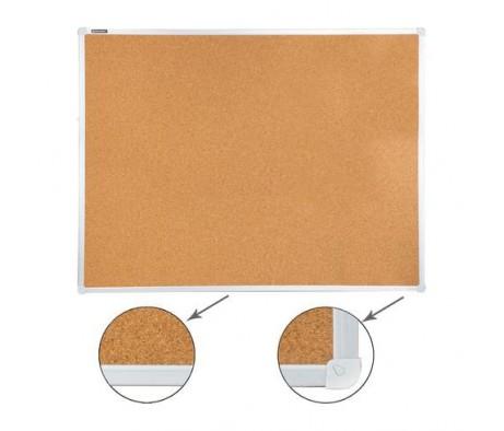 Доска пробковая BRAUBERG для объявлений 90х120 алюминиевая рамка