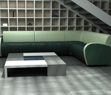 Комплект мягкой мебели Альфа Люкс