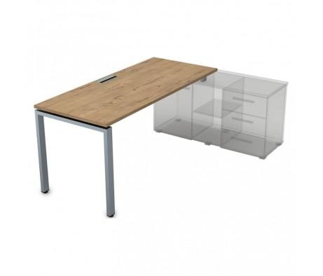 Стол рабочий прямолинейный для крепления на тумбу (1800*800*750) СП-П.985 Gloss