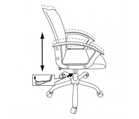 Кресло Бюрократ CH-590SL
