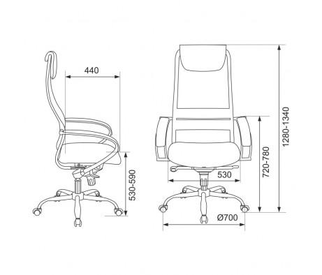 Кресло Бюрократ CH-609SL