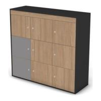 Комплект боковых фасадов шкафа-локера, левый/правый Loft