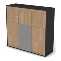 Комплект центральных фасадов шкафа-локера Loft