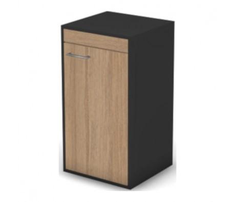 Шкаф, низкий, узкий правый без замка Loft, Matrix New