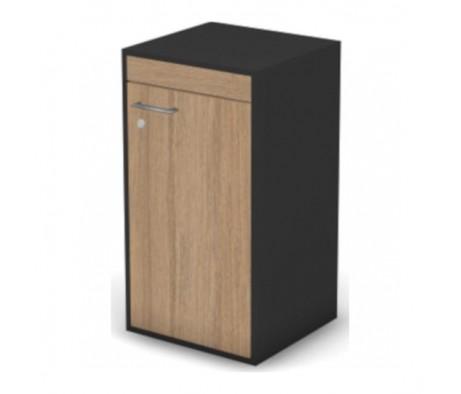 Шкаф, низкий, узкий правый с замком Loft, Matrix New