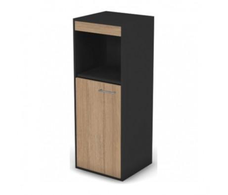 Шкаф с нишей, комбинированный узкий левый без замка Loft, Matrix New