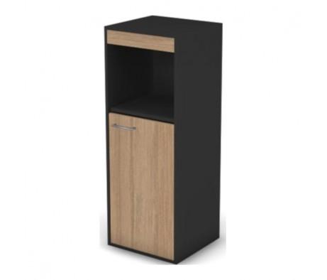 Шкаф с нишей, комбинированный узкий правый без замка Loft, Matrix New