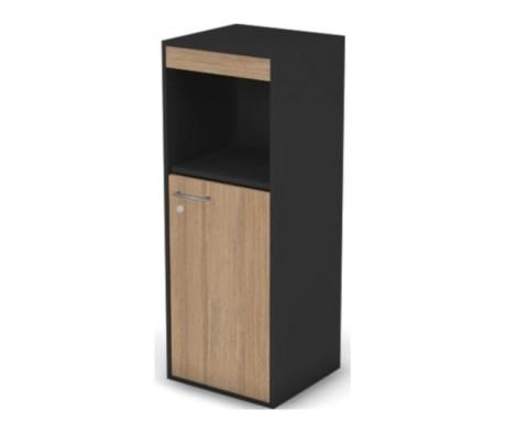 Шкаф с нишей, комбинированный узкий правый с замком Loft, Matrix New