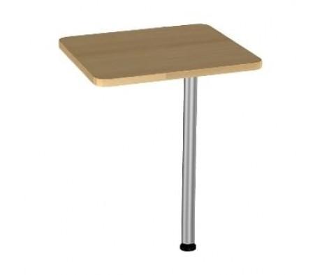 Приставка к столу на опоре БВ-20.0+опора BekWem (ЛДСП)