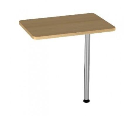 Приставка к столу на опоре БВ-21.0+опора BekWem (ЛДСП)