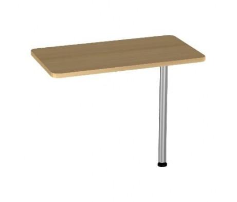 Приставка к столу на опоре БВ-22.0+опора BekWem (ЛДСП)