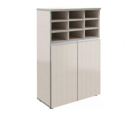 Шкаф широкий средний закрытый (с полками) V-2.1+4.0+8.5 Bella Vita