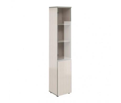 Шкаф узкий высокий со стеклом V-2.6+4.0.1+4.3.1+V Bella Vita