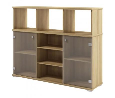 Шкаф приставной к двум столам S-686 Space
