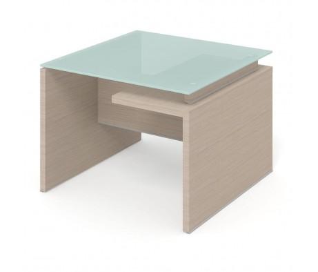 Приставной стол ПК-ДПК-СТП100Х100СМ/Д-В3 Дипломат-кристалл