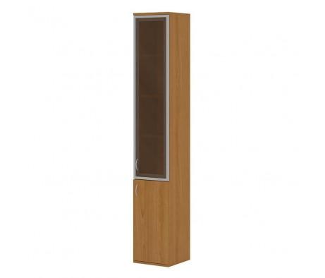 Шкаф комбинированный для офиса ПК-ССМ-ШК217Х36УАС1Д1-В1 Система-M