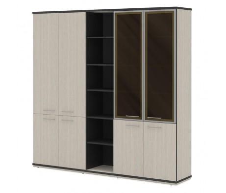 Шкаф комбинированный глубокий ПК-СЕ-Ш3С220Х225К2ДС/Г-В2 Сенатор