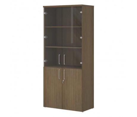 Шкаф офисный для документов ПК-ЭКС-ШДК181Х80С2Д2-В1 Эксперт